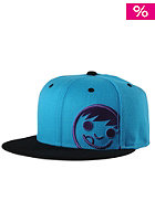 NEFF Corpo Cap cyan black purple