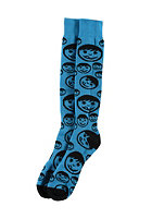 NEFF Corpo Sucker Snow Sock cyan