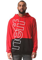 NEFF Corporate 2 Pullover Hooded Sweat red/black
