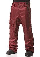 NEFF Daily 2 Snow Pant maroon