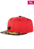 NEFF Daily Cap red floral black