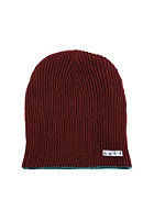 NEFF Daily Reversible Beanie maroon/dark teal