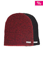 NEFF Daily Reversible black red heather/black