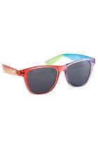 NEFF Daily Shades Sunglasses clear rainbow