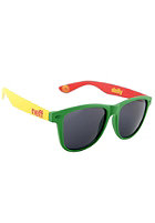 NEFF Daily Shades Sunglasses rasta softotuch