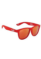 NEFF Daily Shades Sunglasses red soft touch