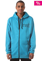 NEFF Daily Shredder Hooded Zip Sweat cyan