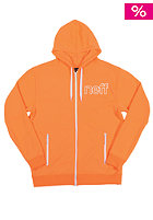 NEFF Daily Shredder Hooded Zip Sweat orange