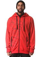 NEFF Daily Shredder Jacket red