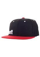 NEFF Daily Snapback Cap black red white
