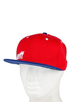 NEFF Daily Snapback Cap red/blue