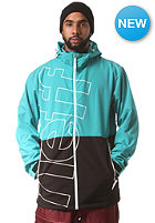 NEFF Daily Softshell Snow Jacket teal/black