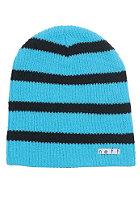 NEFF Daily Stripe Beanie cyan/black