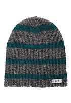 NEFF Daily Stripe Beanie grey/green