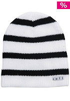 NEFF Daily Stripe Beanie white/black