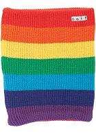 NEFF Daily Stripe Gaiter Neckwarmer rainbow