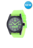 NEFF Daily Watch green glow