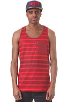 NEFF Delineation Tank Top red