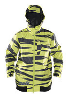 NEFF Destroyer Jacket yellow zebra