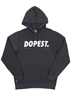 NEFF Dopest Hooded Sweat charcoal heather