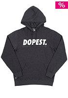 NEFF Dopest Hooded Sweat charcoal heather