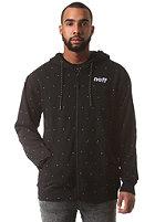 NEFF Dotted Hooded Zip Sweat black