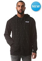 NEFF Dotted Hooded Zip Sweat black