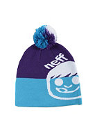 NEFF Dude Beanie cyan/purple