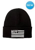 NEFF Flagged Beanie black
