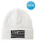NEFF Flagged Beanie white