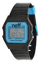 NEFF Flava Watch black cyan