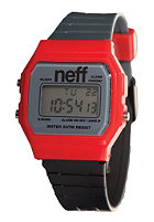 NEFF Flava Watch red/charcoal / black
