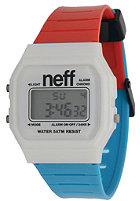 NEFF Flava Watch red white blue