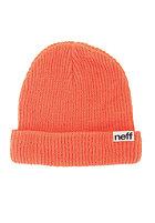NEFF Fold Beanie coral