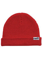 NEFF Fold Beanie red