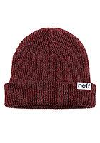 NEFF Fold Heather black/red