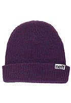 NEFF Fold Heather navy/maroon