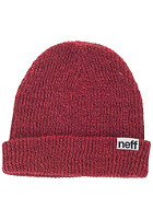 NEFF Fold Heather neon coral / maroon