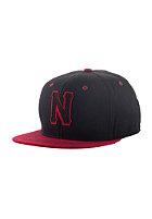 NEFF Freeman Snapback Cap black/maroon