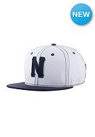 NEFF Freeman Snapback Cap white/blue