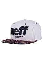 NEFF Hardr Snapback Cap white
