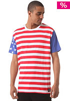 NEFF Merica Prem Cut and Sew S/S T-Shirt red white