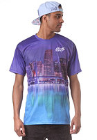 NEFF Nightlife Premium S/S T-Shirt purple