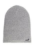 NEFF Optic Heather Beanie grey heather/white