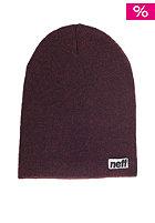 NEFF Optic Heather maroon/black