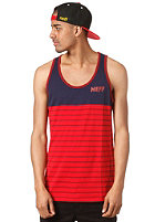 NEFF Pin Tank Top blau/rot