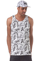 NEFF Retro Hula Tank Top white
