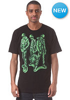 NEFF Run Green S/S T-Shirt black