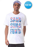 NEFF Sand Sun Fun S/S T-Shirt white