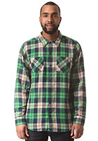 NEFF Scott Flannel L/S Shirt green